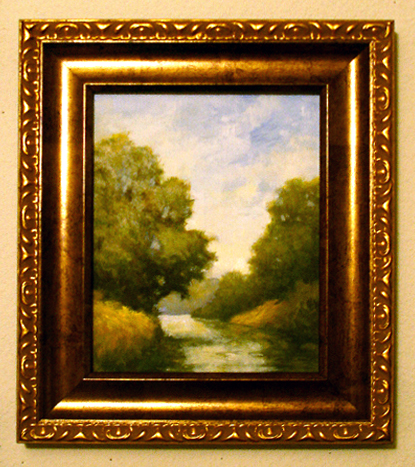 Kokosing River Bend framed